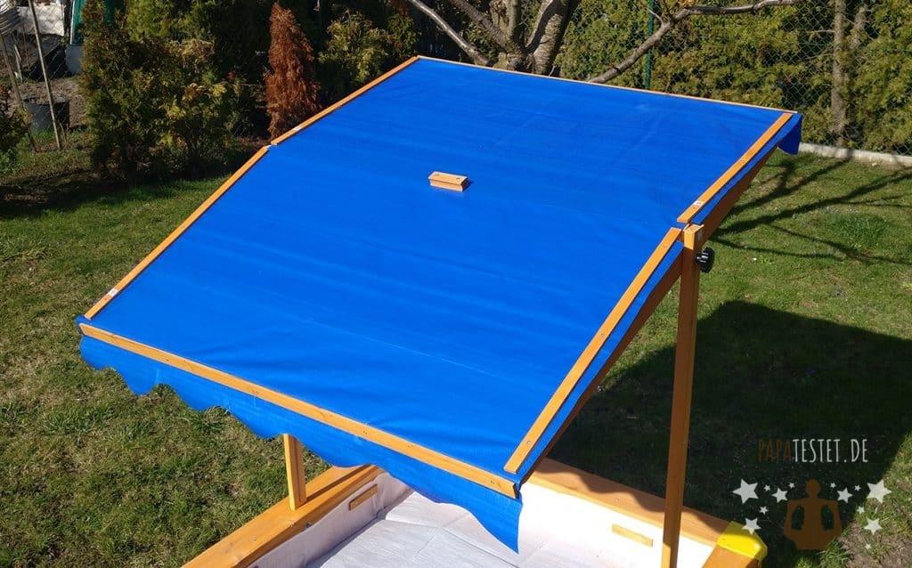 Das Dach des Lidl Sandkasten