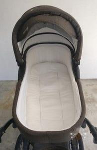 Die Babywanne des Kombikinderwagen Knorr Classico.