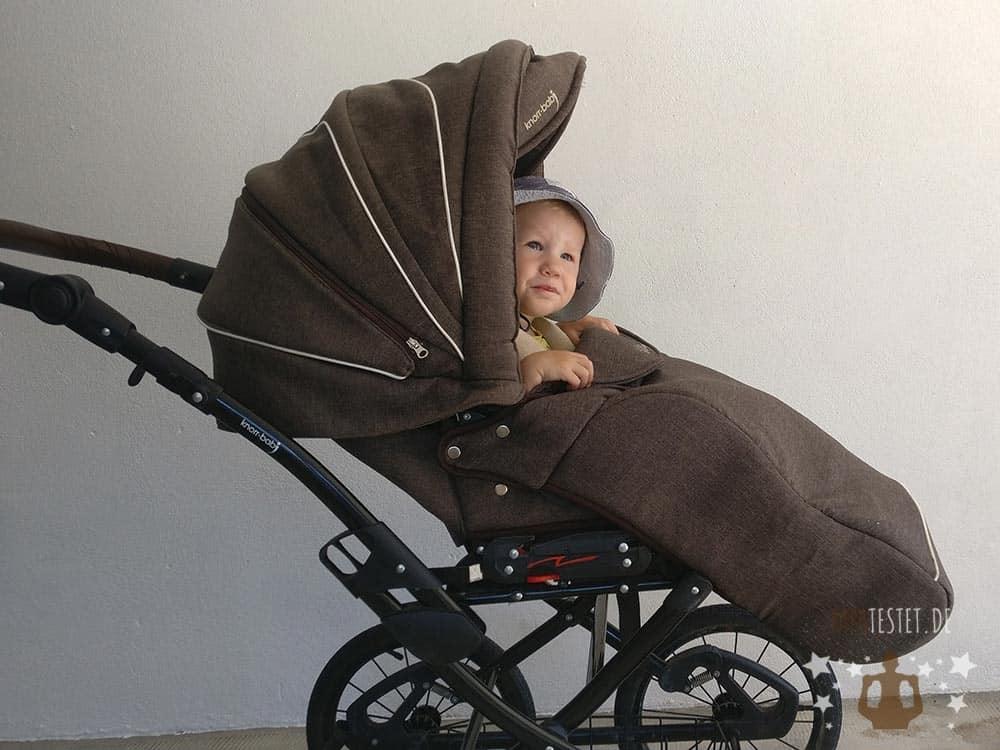 Der Fußsack für den Sportsitz des Classico Kinderwagen