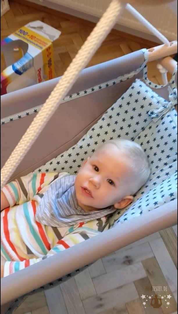 Adamo ® Moskitonetz für Babyschaukel//Hängematte