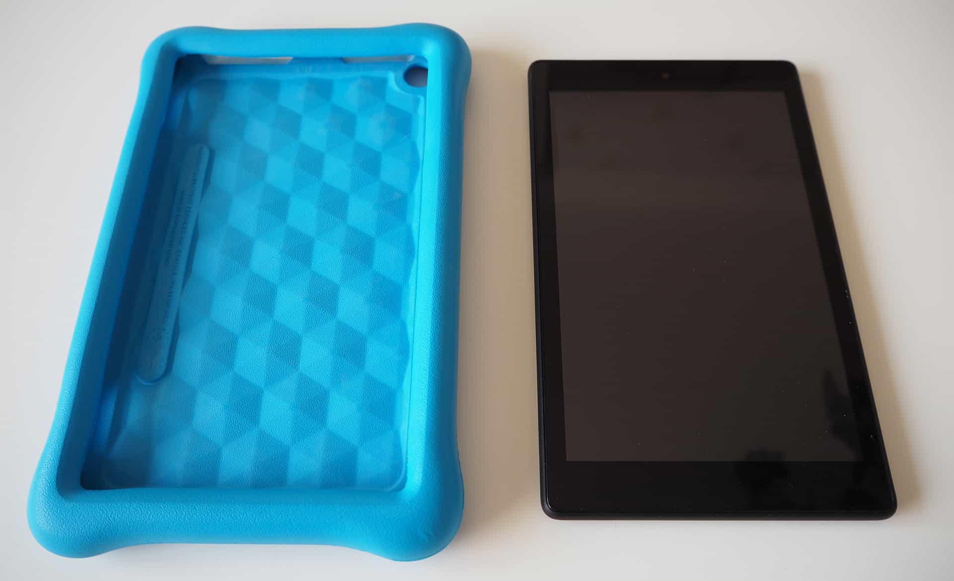 Die lose Hülle und das Amazon Fire HD 8 Tablet