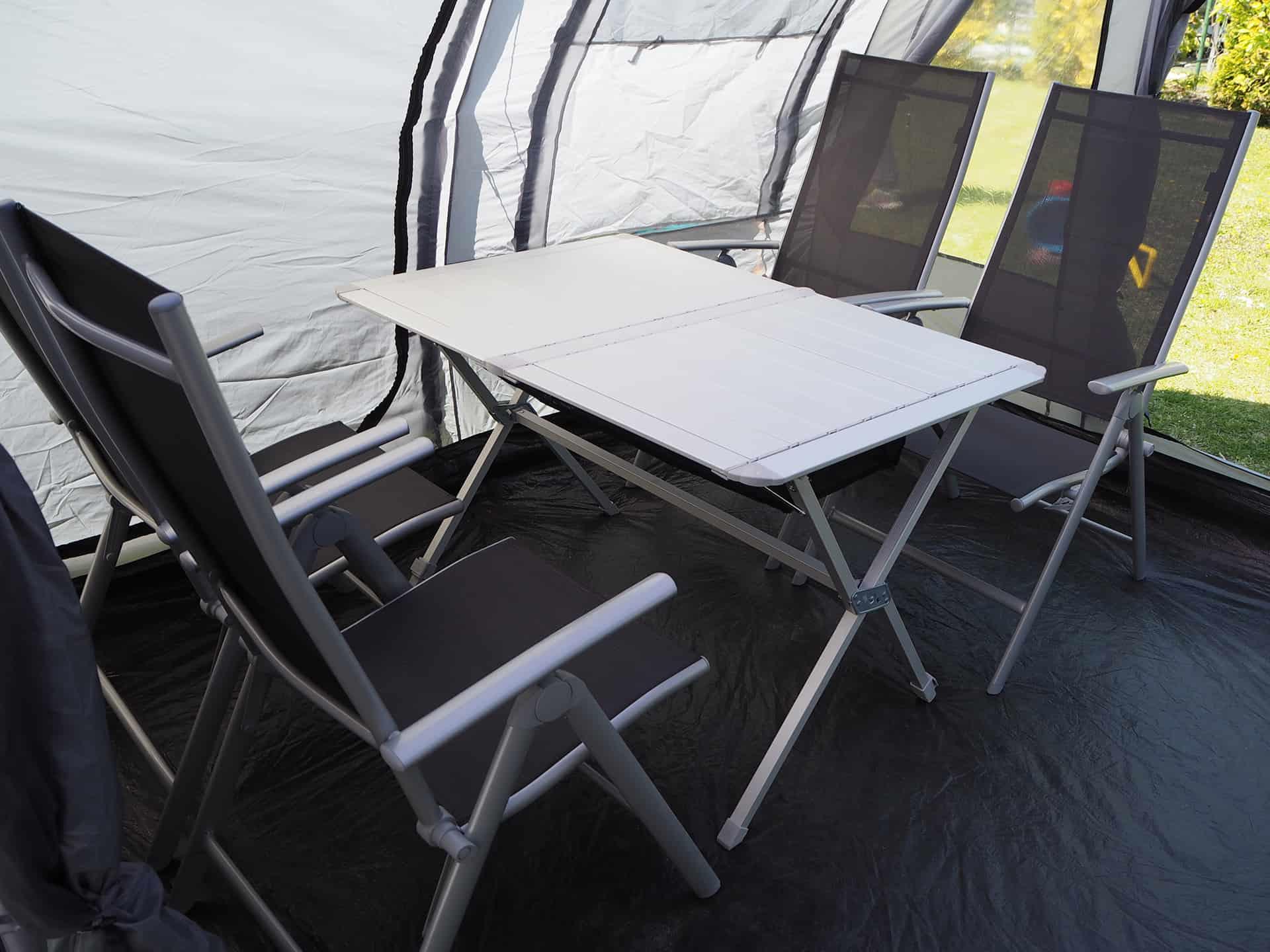 Berger Campingtisch mit Platz für 4 Personen