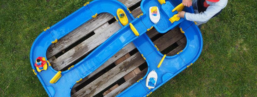 Big Waterplay Wasserbahn im Test