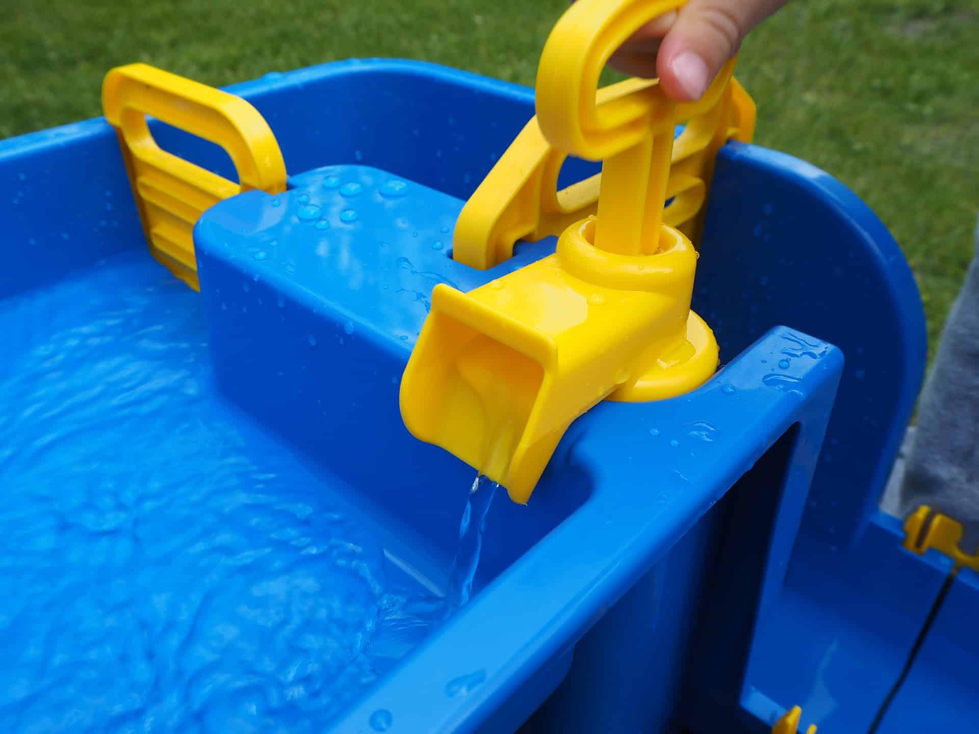 Die Pumpe der WaterPlay Wasserbahn