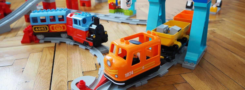 Die neue und alte Duplo Eisenbahn im Test und Vergleich