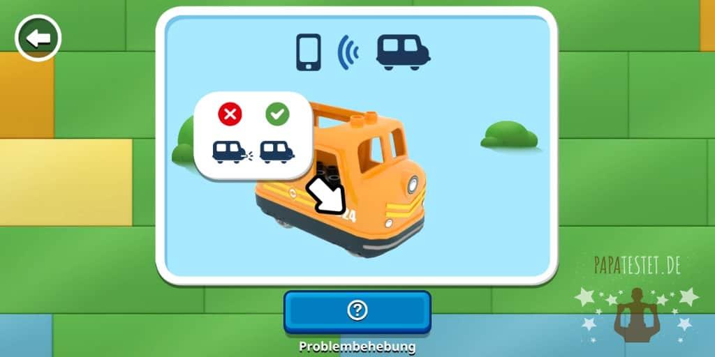 Duplo Zug mit Bluetooth verbinden
