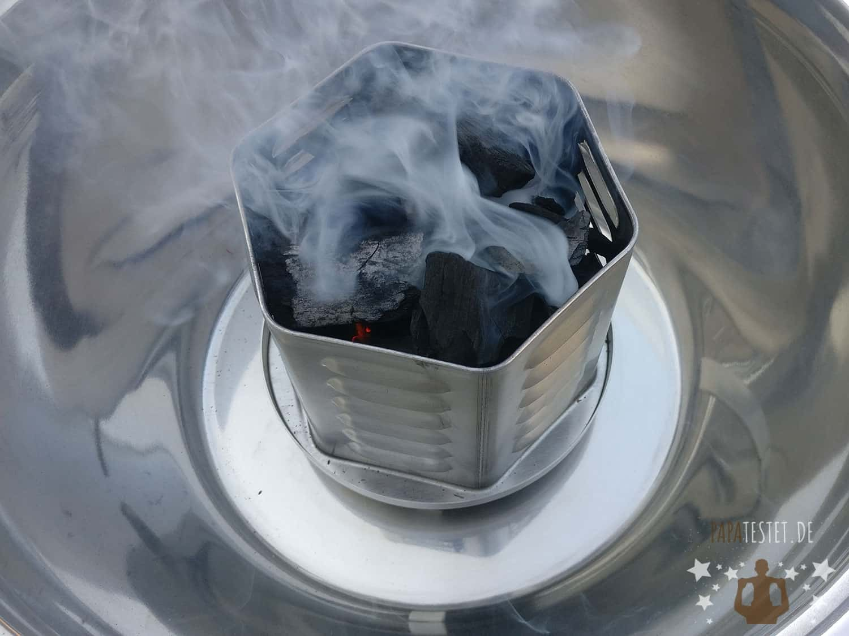 Lidl Florabest Holzkohlegrill Test : Im test holzkohlegrill mit belüftung outdoor co air