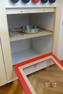 Der Backofen der Spielküche Hape Küchentraum