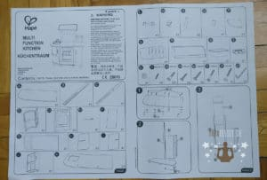 Hape Küchentraum Aufbauanleitung