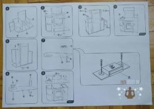 Hape Küchentraum Aufbauanleitung Rückseite