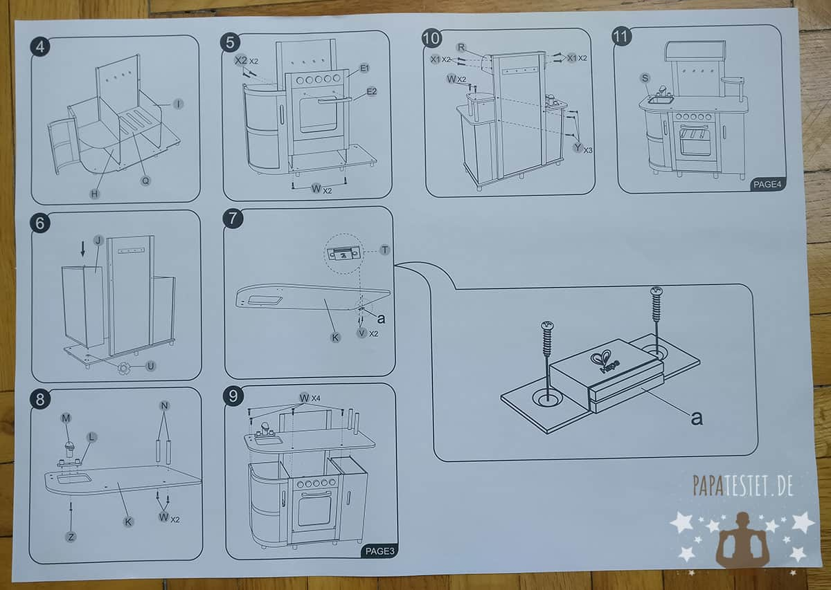 Aufbau Kühlschrank Qualität : Kinderküchen test: papa testet die hape holzspielküche ツ papatestet