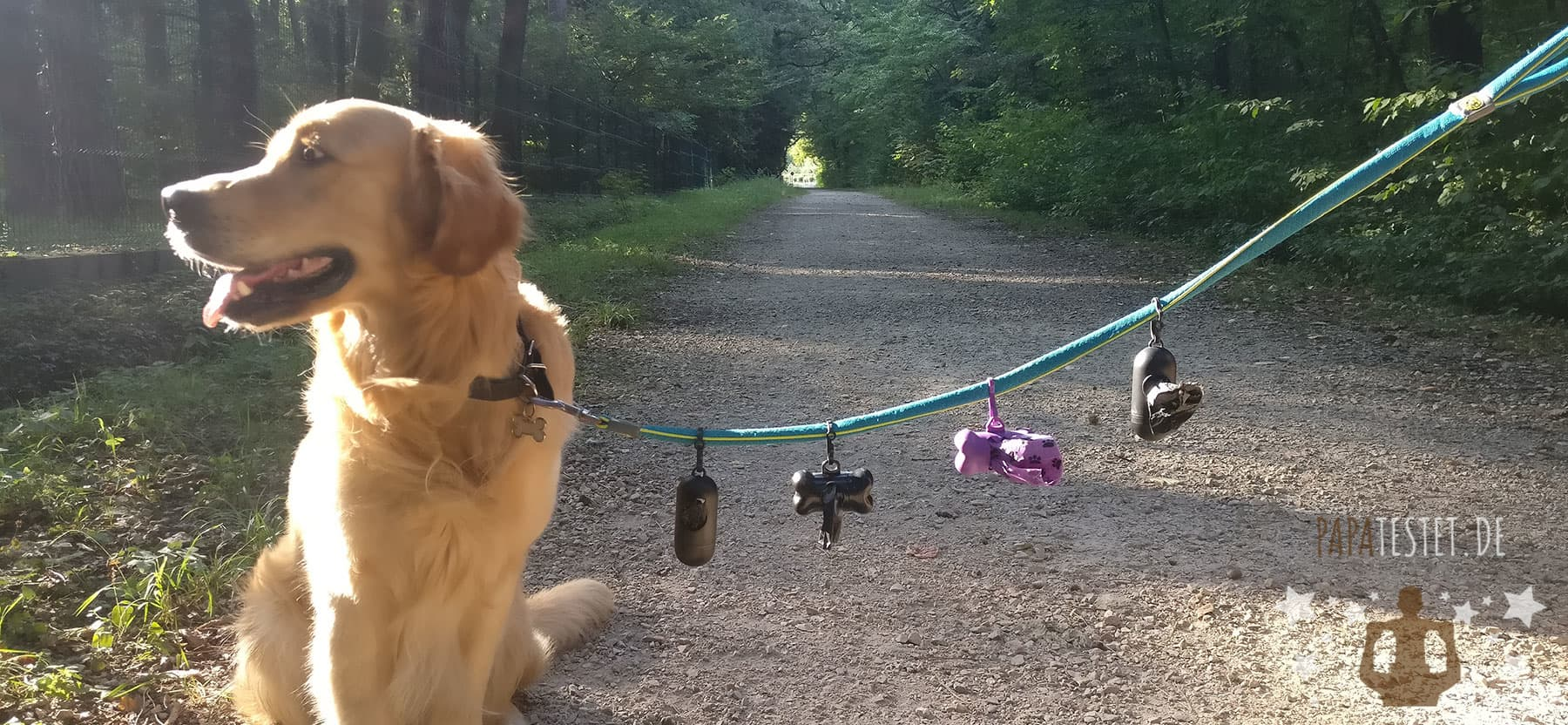 Der Hundekotbeutel Test
