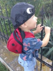 Der LittleLife Rucksack mit Regenschutz