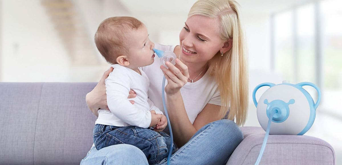 Nasensauger für Babys: Endlich die Nase frei