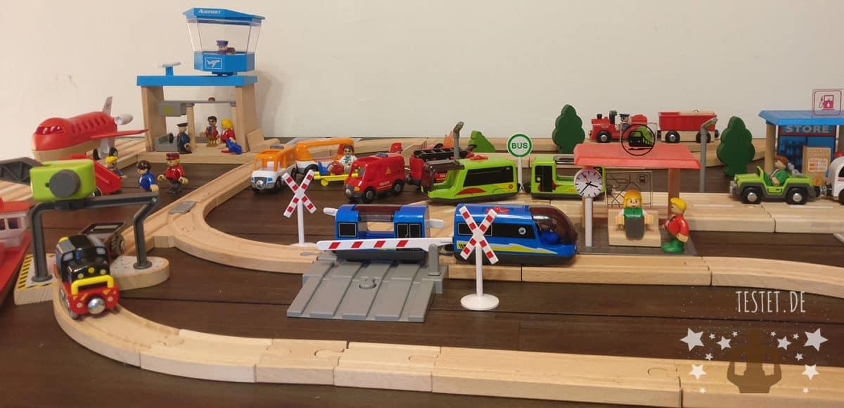 Die Playtive Holzeisenbahn von Lidl